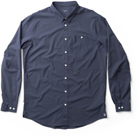 Houdini LS Shirt Men Herren big bang blue